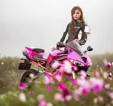 インスタグラムやユーチューバーとして話題のかわいいバイク女子を紹介!
