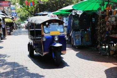 タイ旅行でトゥクトゥクに乗るのは危険なのか実体験レポート!安全に乗る方法とは?