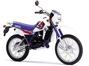 ヤマハの50cc原付オフロードバイクDT50のスペックやおすすめカスタム紹介!