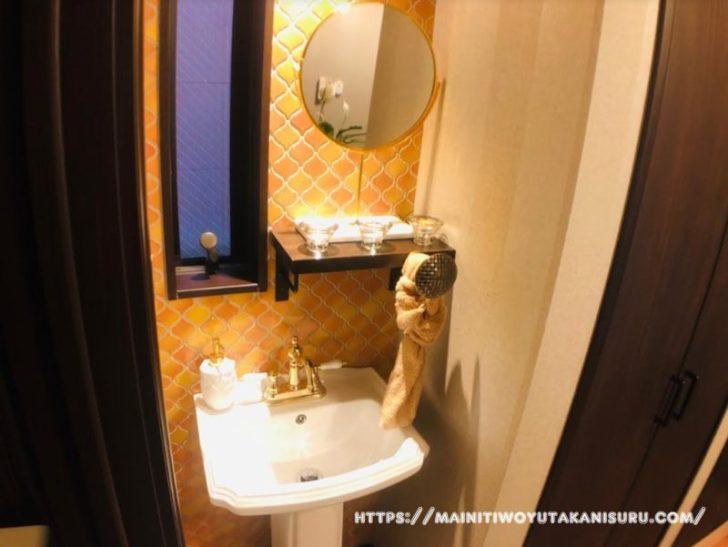 【入居後1ヵ月WEB内覧会】マリンテイストな1階セカンド洗面台
