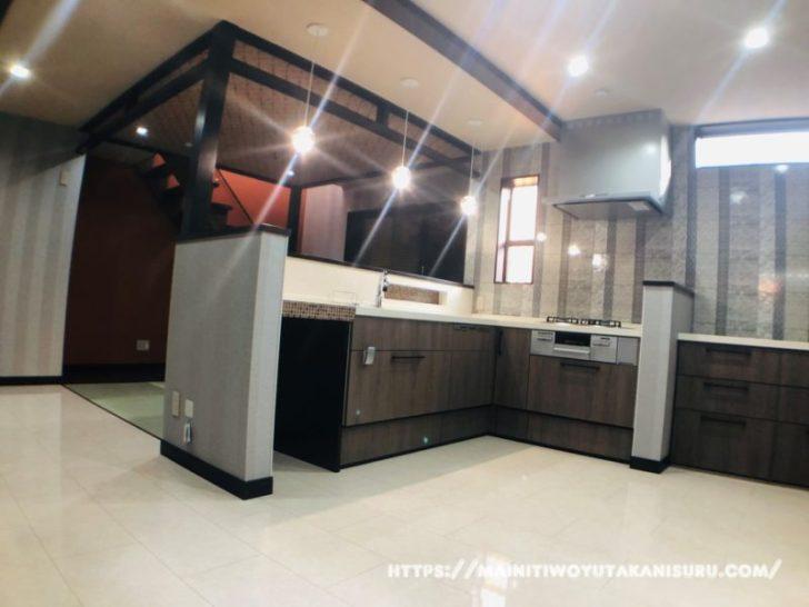 【入居前WEB内覧会】内側をあえて魅せるキッチン・ダイニング