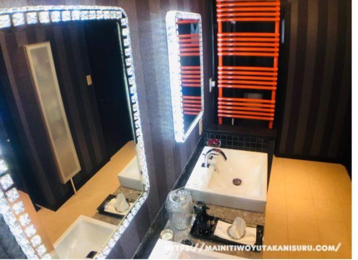 【入居後1ヵ月WEB内覧会】一番自慢できるホテルライクな2階メイン造作洗面台