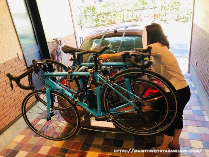 ザ・ビートル×サイクルキャリアでもっと自由なロードバイク旅を!