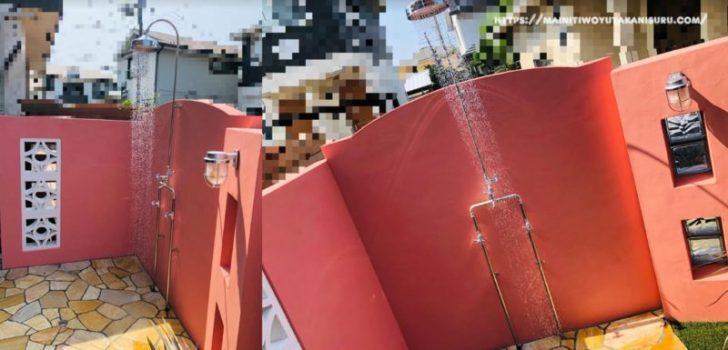 【入居後3ヵ月WEB内覧会】ロイヤルハワイアンな外構の仕上げで砂利敷きを
