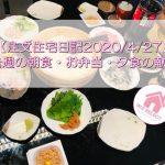 【注文住宅日記2020/4/27】先週の朝食・お弁当・夕食の献立