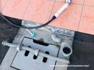 キッチンのシンク下から下水の臭い発生?!原因はこれか?!【続編④】