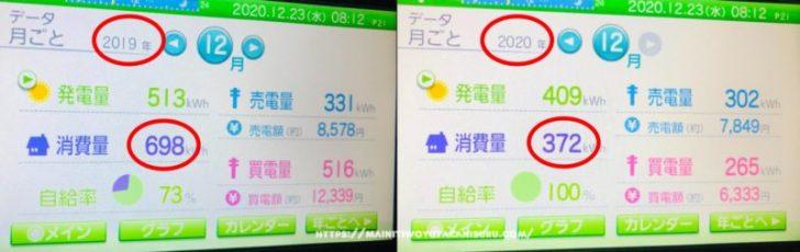 【注文住宅日記2020/12/24】ガスストーブのおかげで電気代が安くなりました?!