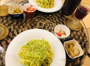 【注文住宅日記2021/1/12】先週の朝食・お弁当・夕食の献立(麺類パスタ)