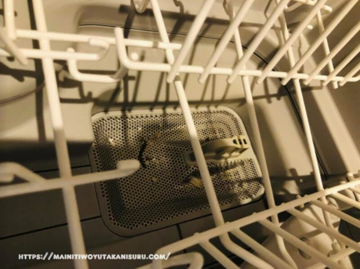 【注文住宅日記2021/2/9】食洗機を掃除したんだけど思ったよりキレイなのね