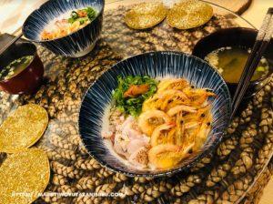 【注文住宅日記2021/2/2】先週の朝食・お弁当・夕食の献立(丼物海鮮)