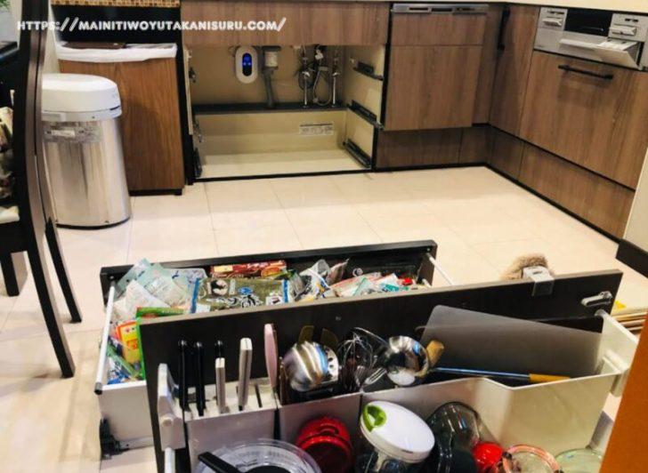 キッチンシンク下の下水臭発生から約9ヵ月