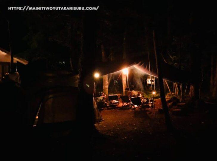 真夏の4泊5日キャンプの心配事