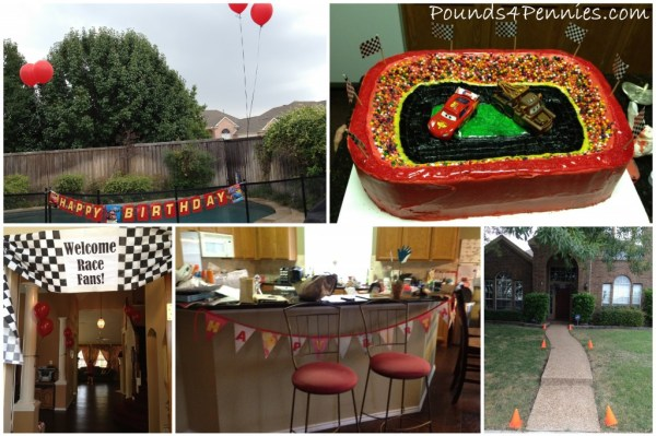 cars birthday party ideas
