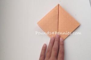 monster paper origami bookmark
