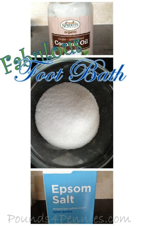 Natural Foot Bath for Soft Feet