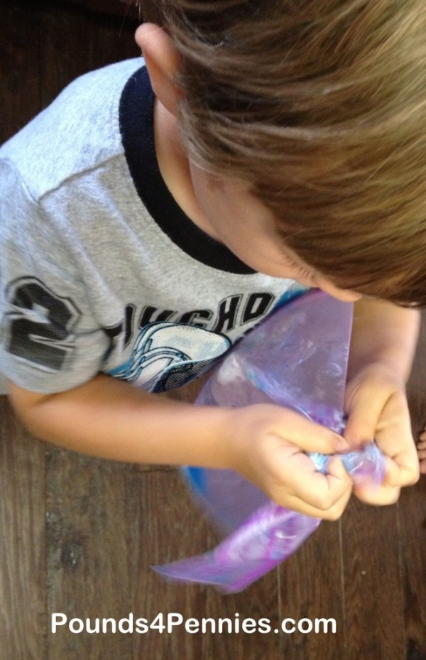 Homemade Silly Putty using Borax
