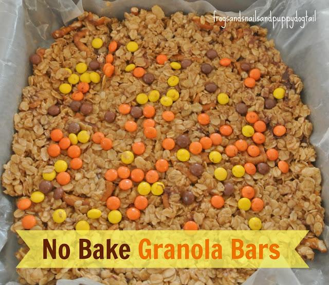 No bake granola treats