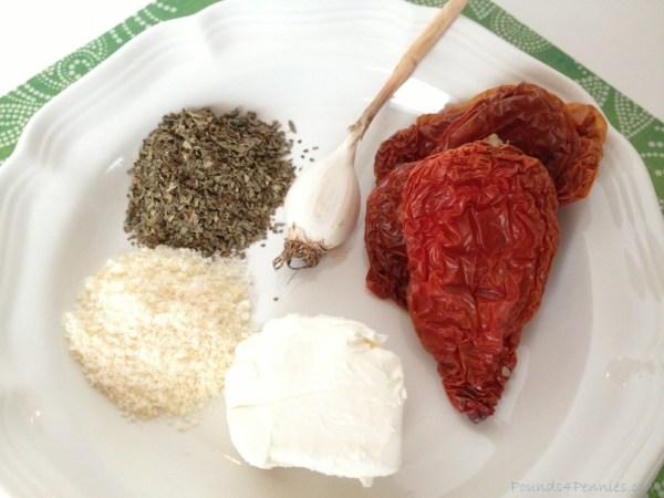 Sun Dried Tomato pesto recipe ingredients