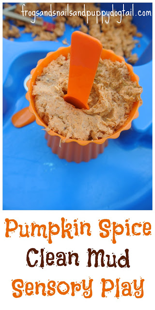 Pumpkin crafts for kids - Clean Mud