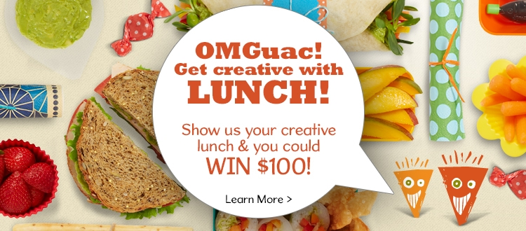 OMGuac Lunchbox ideas