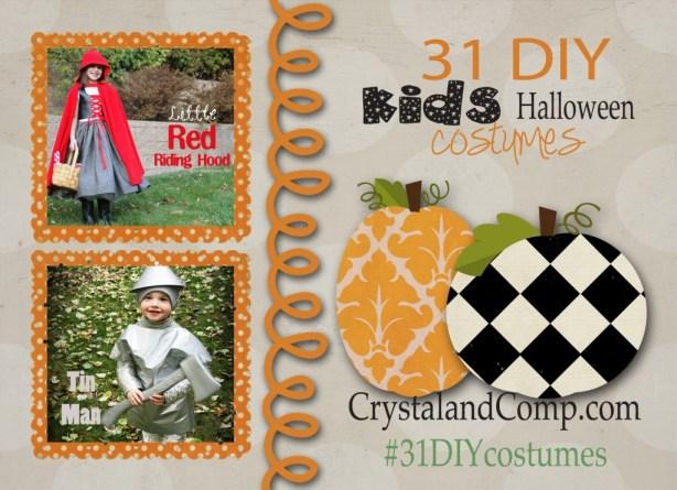 31 days of diy halloween costumes