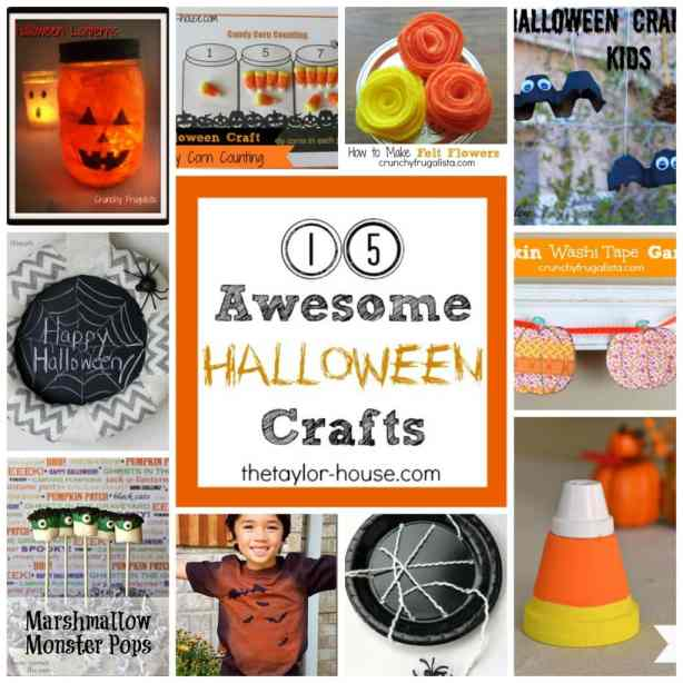 15 Awesome Halloween Crafts