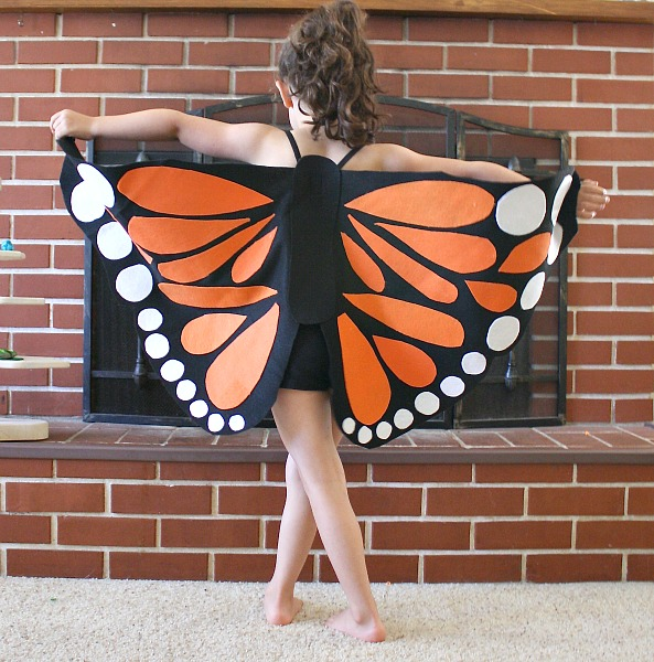 Homemade Halloween Costume Ideas - Butterfly Costume