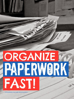 Home Organization Ideas - Organize Paperwork Fast