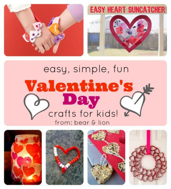 children valentine's day crafts