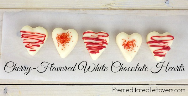 How to Make White Chocolate Candy Hearts