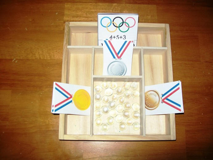 Olympic medal activity for kids
