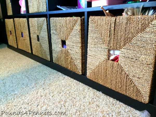 Baskets for easy Storage for kids