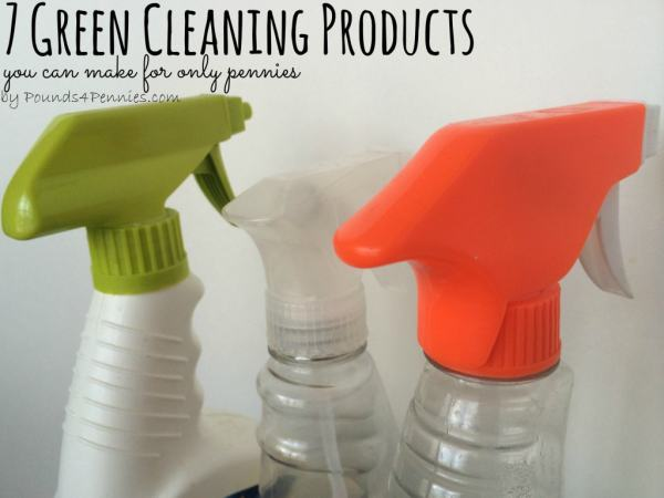 homemdea green cleaning products you can make for only pennies
