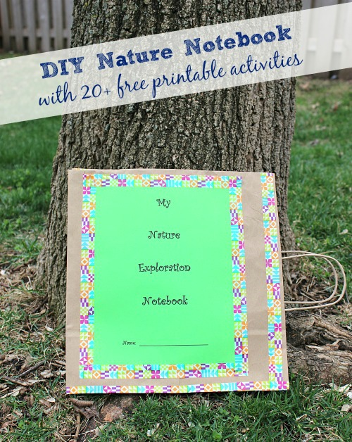 Create Your Own Nature Notebook - Earth Day Activities