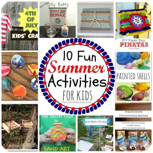 10 Fun Summer Camp Activities for Kids