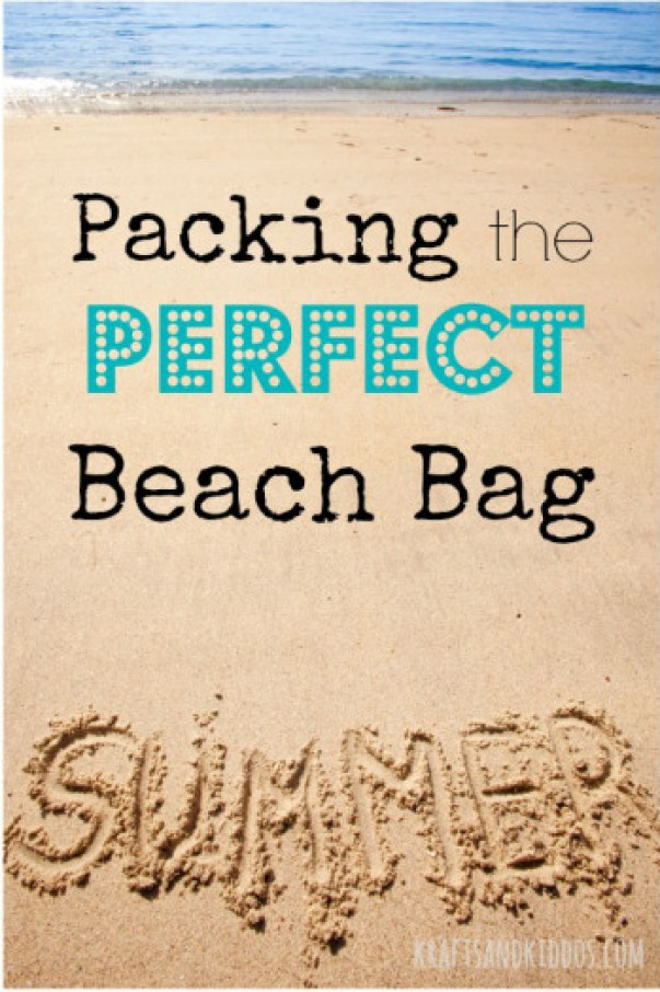 Beach Activities Packing the perfect beach bag