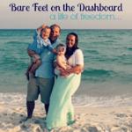 Dallas Bloggers Bare Feet on the Dashboard