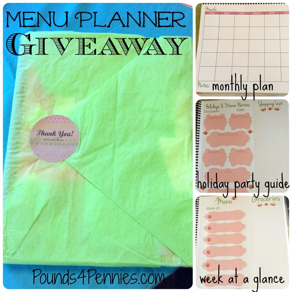 Menu Planner Giveaway