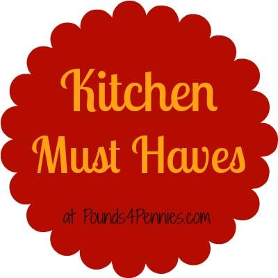 Kitchen must haves