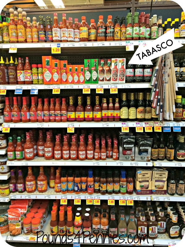 Tabasco Shelf Set