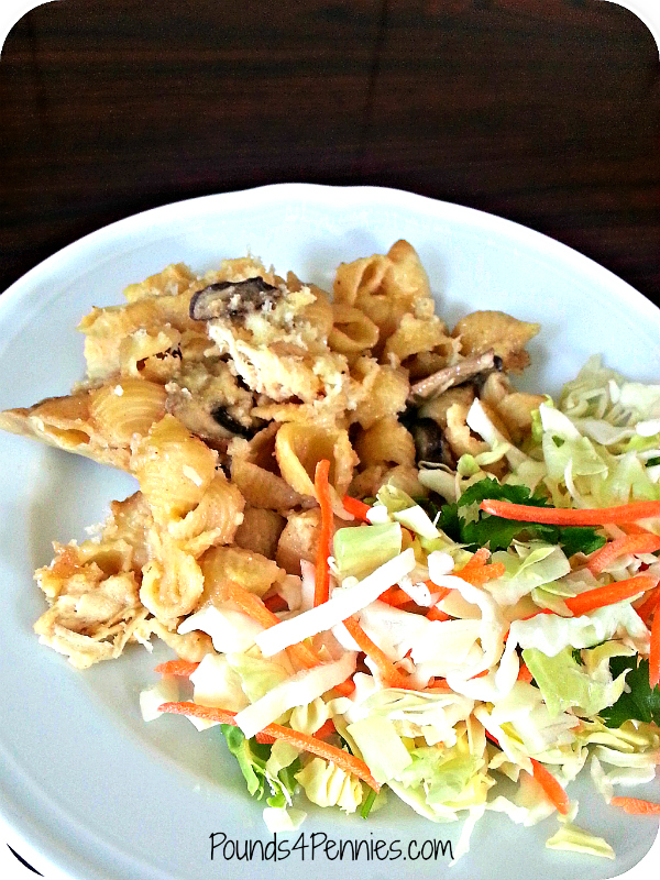Chicken macaroni and cheese 1