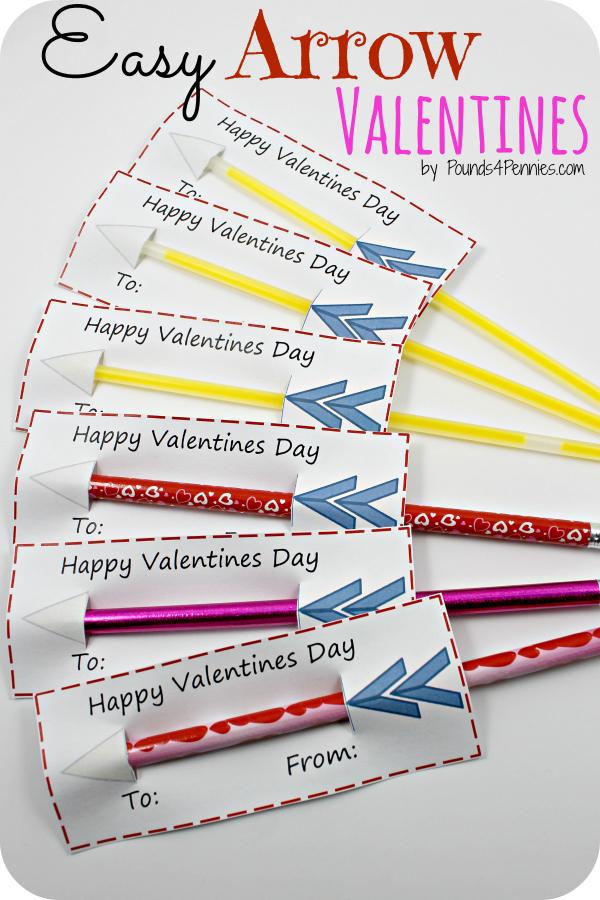 Easy Arrow Valentines