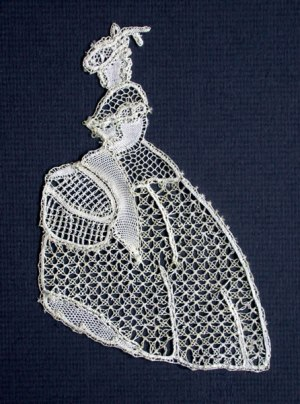 Crinoline Lady (small) - Honiton Lace Making Pattern