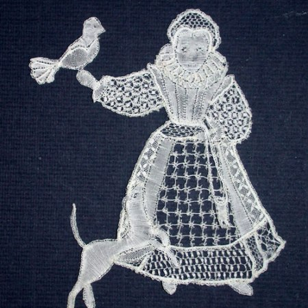 Elizabethan Girl - Honiton Lace Making Pattern