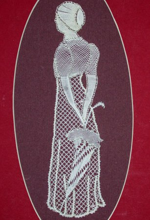 Miss Elizabeth Bennett - Lace Making Pattern