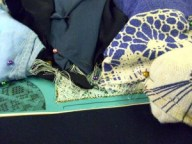 7 Steps to move your bobbin lace