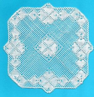 Torchon Bobbin Lace Pattern - Crystal 1