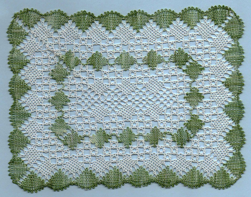 how to create a lace pattern