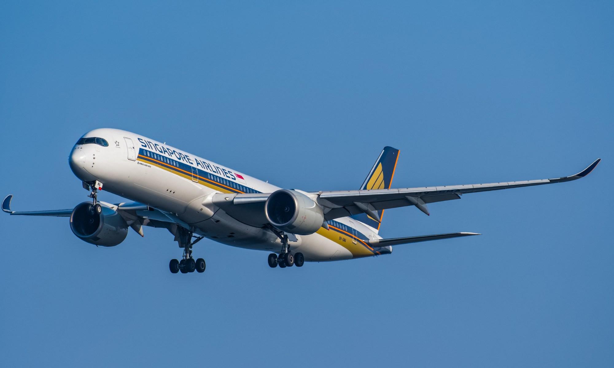 SIA Fleet: Airbus A350-900 – Mainly Miles