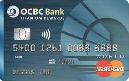 OCBC Titanium Rewards 6 miles per $1 spent on Mileslife